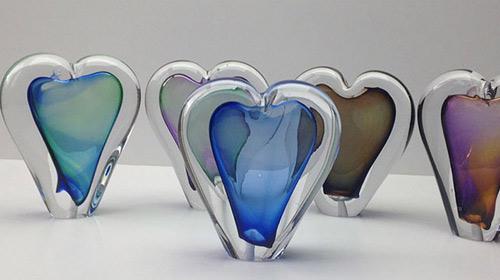 kristalglas-urn